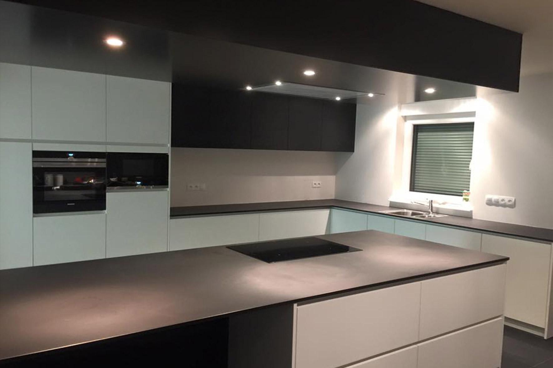 Keuken – mat zwart – Flex Design