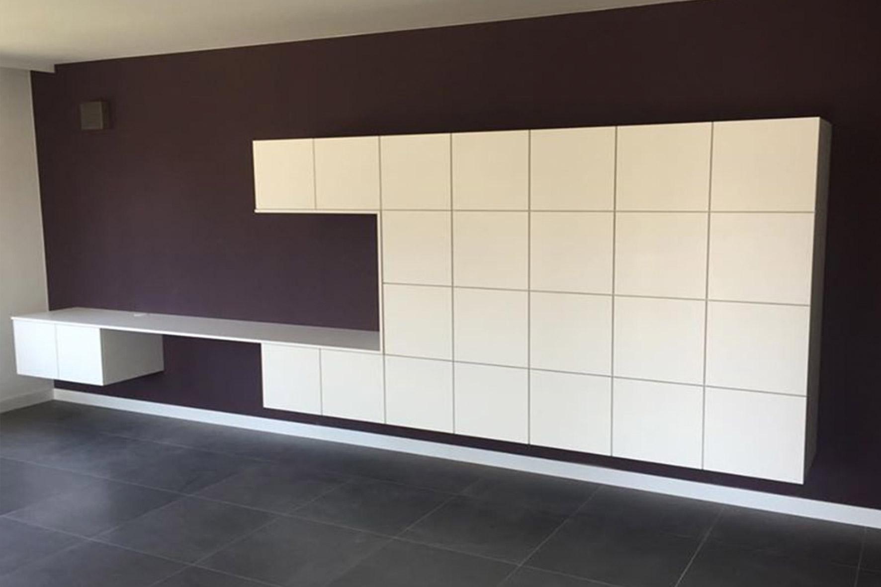 Design Bureau Woonkamer : kasten-bureau1