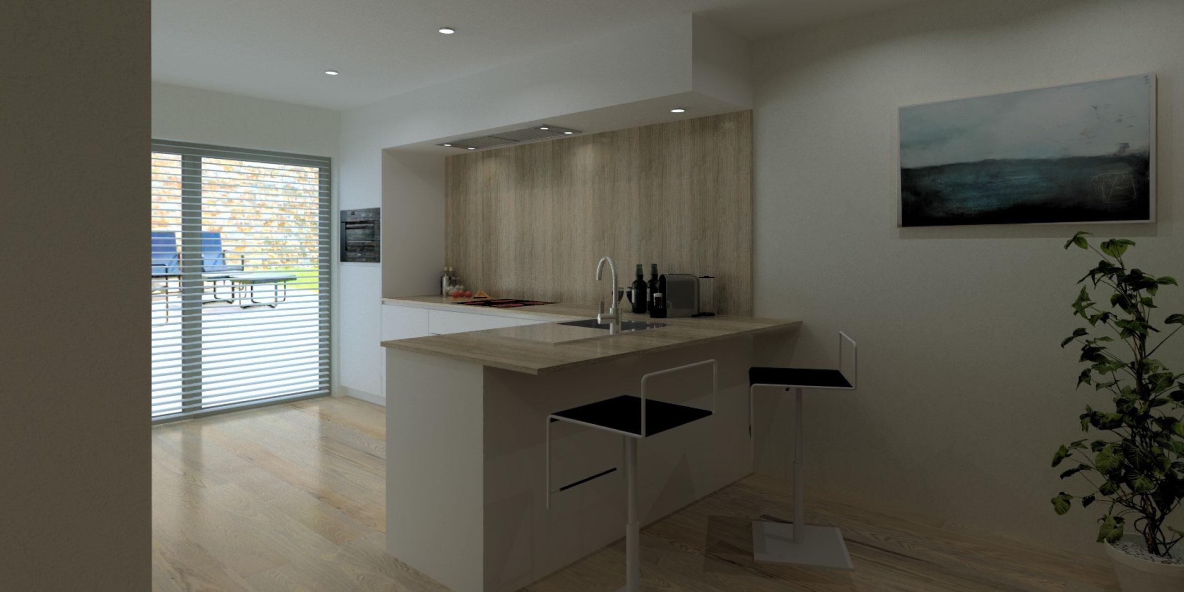 Keuken 66 flex design for Keuken 3d ontwerpen