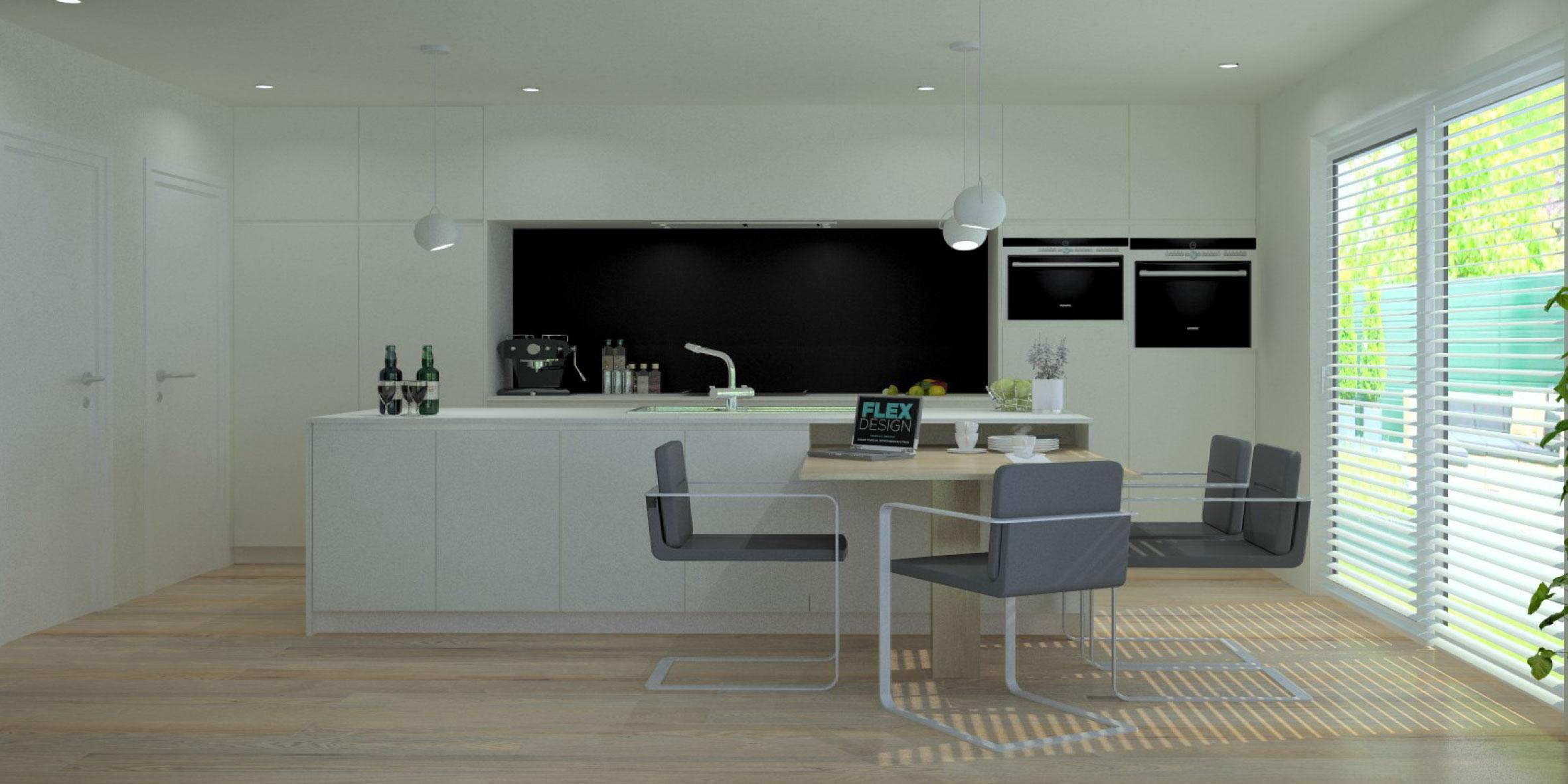 Keuken 64 flex design for Keuken 3d ontwerpen